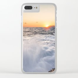 Breathtaking sunset Clear iPhone Case