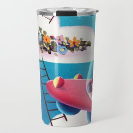 Cloud Vacation Travel Mug