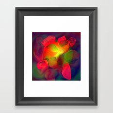 lluminated Pebbles Framed Art Print