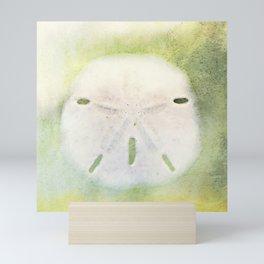 Sand Dollar on Pastel Mini Art Print