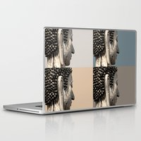 buddah Laptop & iPad Skins featuring buddah heads by Shane Williams