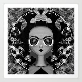 Frida Kahlo 2 Art Print