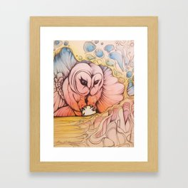 Theif Framed Art Print