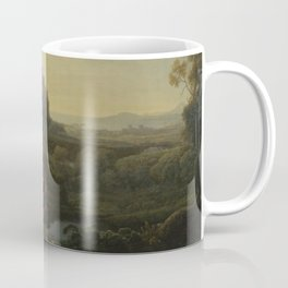 Landscape with Narcissus and Echo by Claude Coffee Mug
