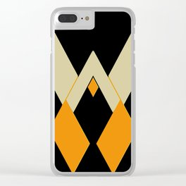 Shapes1 Clear iPhone Case