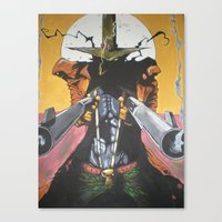 spawn Canvas Prints featuring Spawn  by Diablues Hands