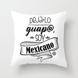 Deja lo Guap@ Throw Pillow
