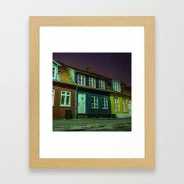 Latinerkvarteret, Aarhus, Denmark Framed Art Print