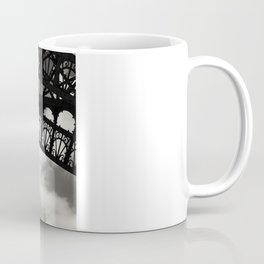Black Lace of Eiffel Tower Coffee Mug