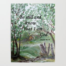 Be Still and Know Poster