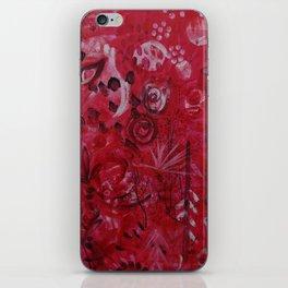 Pink Spirt iPhone Skin