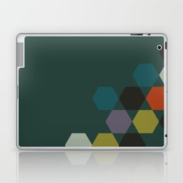 cluster || green night Laptop & iPad Skin