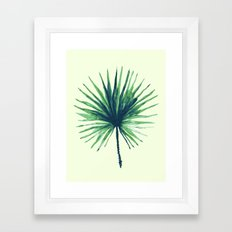 Palm Leaf - Fan Framed Art Print