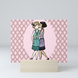 Girls Like Girls - 1920's Mini Art Print