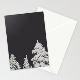 A Pacific Northwest Winter Night Stationery Cards