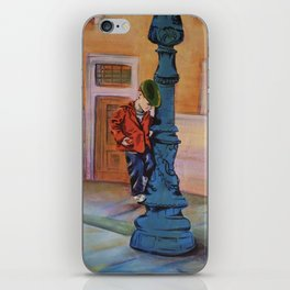 Singing in the rain, the early years iPhone Skin