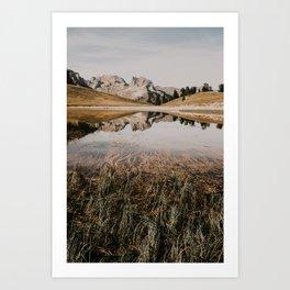Mont Thabor & Grand Séru Art Print