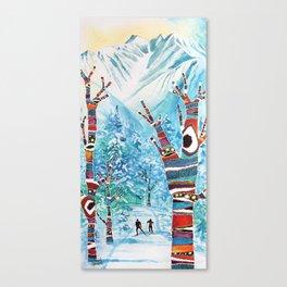 Forelsket ('Falling in Love' in Norwegian) Canvas Print