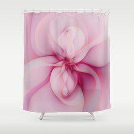 Raspberry Creme Delight Shower Curtain