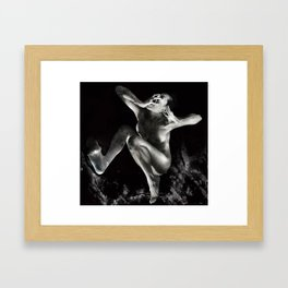 Can't Scream out loud! Framed Art Print