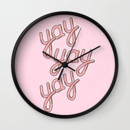 YAY YAY YAY 02! Wall Clock