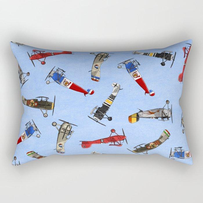 Warriors of the Sky Rectangular Pillow