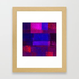Christmas Square Dance Framed Art Print