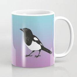 Magpie pen drawing Coffee Mug