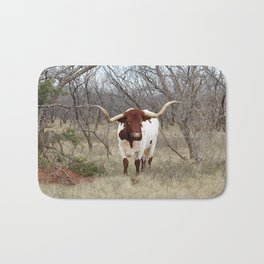 Longhorn Cattle Bath Mat
