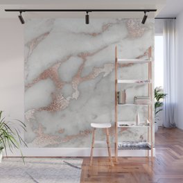 Rose Gold Marble Wall Mural