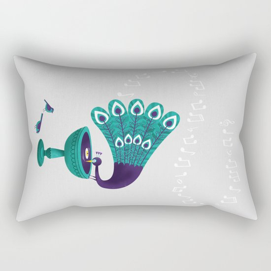 Bird Song Rectangular Pillow