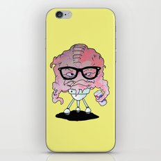 Brainy Hipster iPhone & iPod Skin