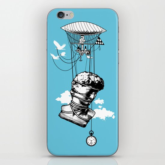 The Skies Are Full Of Strange Things iPhone & iPod Skin