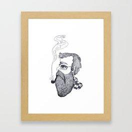 Dreaming of the Weekend Framed Art Print