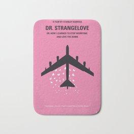 No025 My Dr Strangelove minimal movie poster Bath Mat