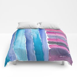 Colorful Quilt Abstract Comforters