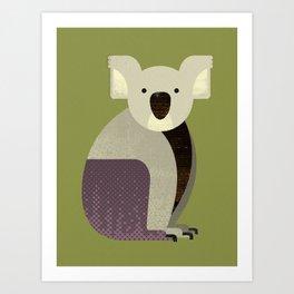 Whimsy Koala Art Print