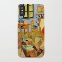 van gogh iPhone & iPod Cases featuring van gogh by gazonula