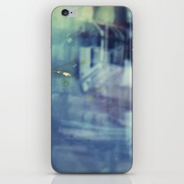 And yet the most ordinary silence reigns in these narrow places iPhone Skin