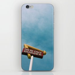 In N Out iPhone Skin