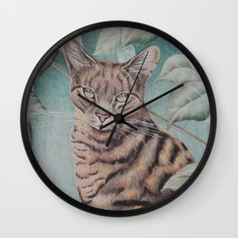 Cats- Zebedee Wall Clock