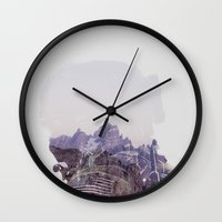 the national Wall Clocks featuring National Guard by PecDesign