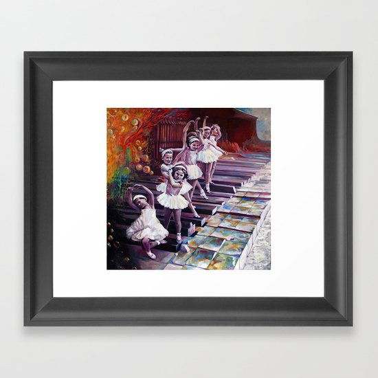 Satie Framed Art Print