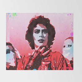 The Rocky Horror Picture Show - Pop Art Throw Blanket
