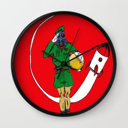 Space Cadet Academy Wall Clock