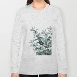 Eucalyptus Leaves Green Vibes #1 #foliage #decor #art #society6 Long Sleeve T-shirt