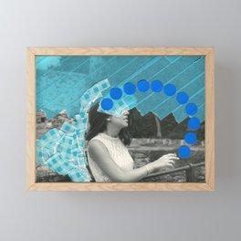 Smokey Eyes Framed Mini Art Print