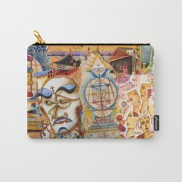 Xul Solar collage Carry-All Pouch