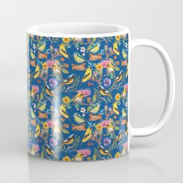 Pattern - watercolor hand painted spring birds Coffee Mug