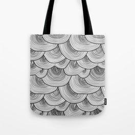 Moody Rainclouds Tote Bag